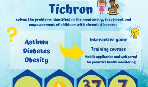 HEALTH: TICHRON another step in the fight against chronic childhood diseases